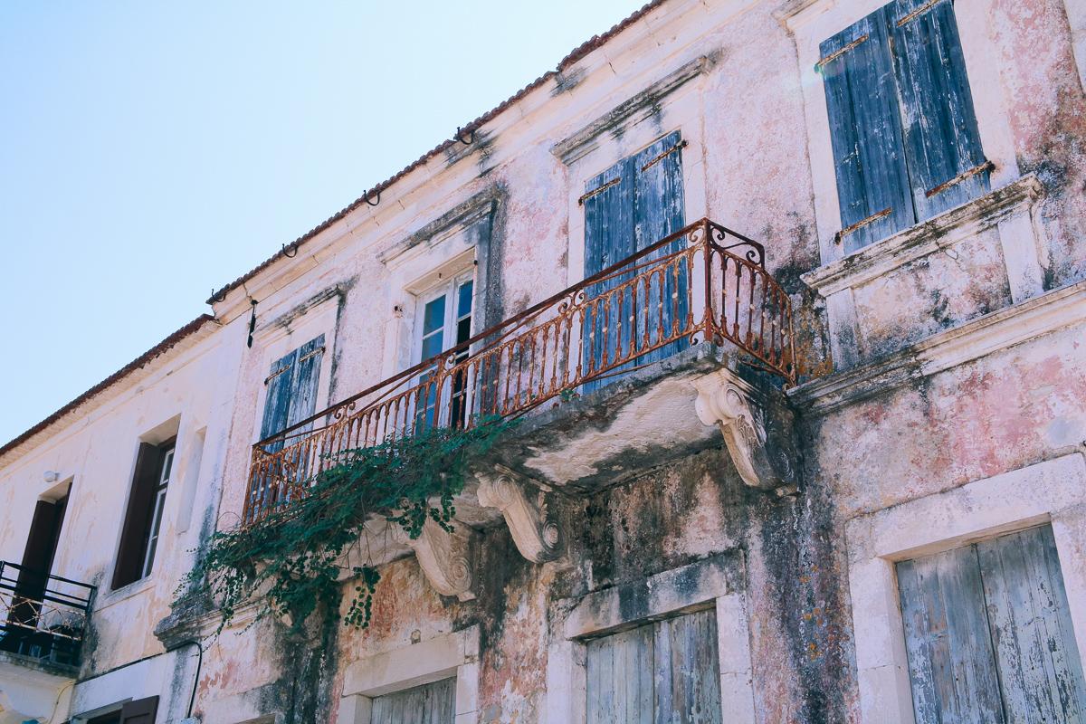 Griekenland Fiskardo Kefalonia Architectuur