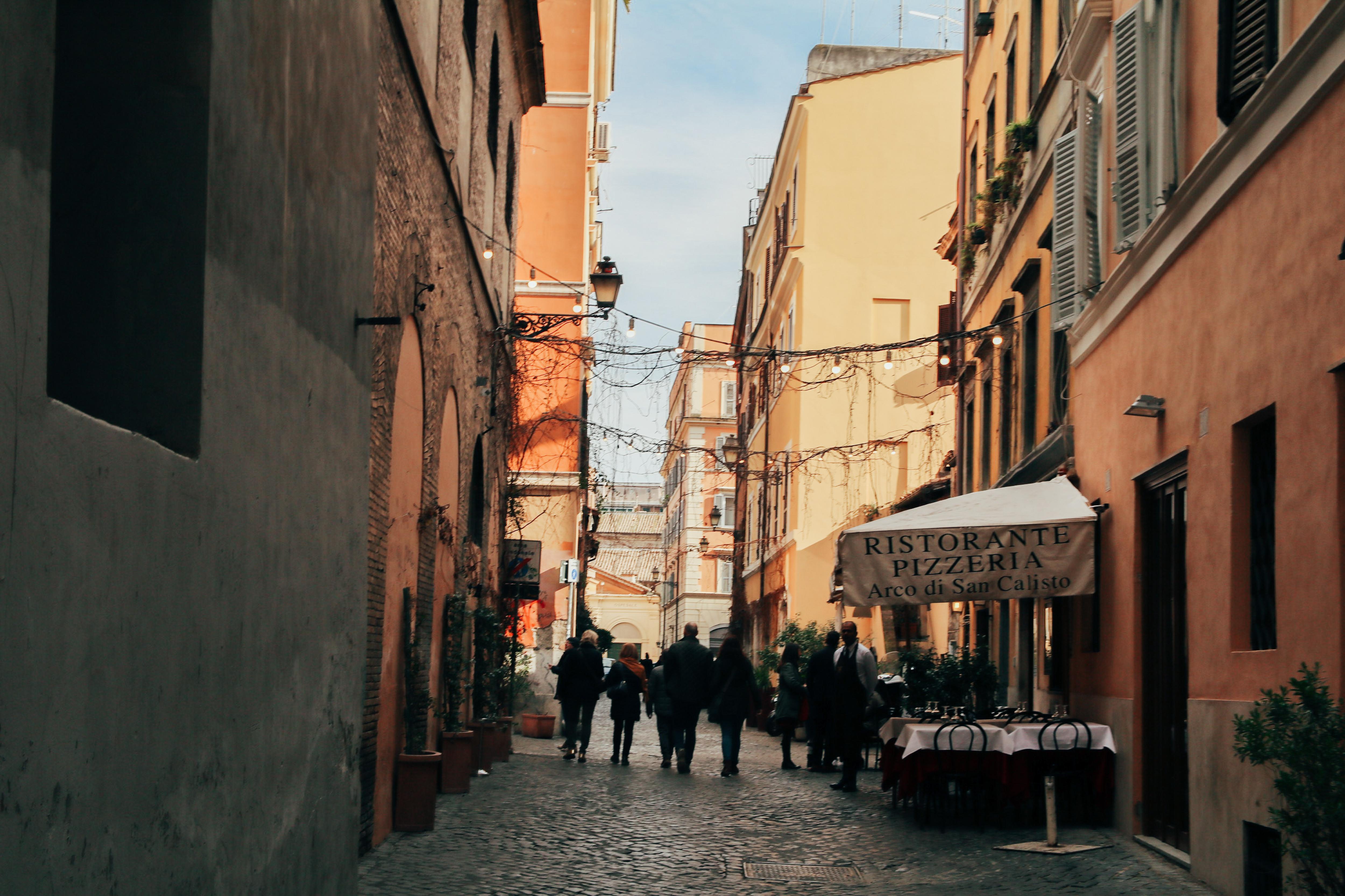 wijk trastevere rome