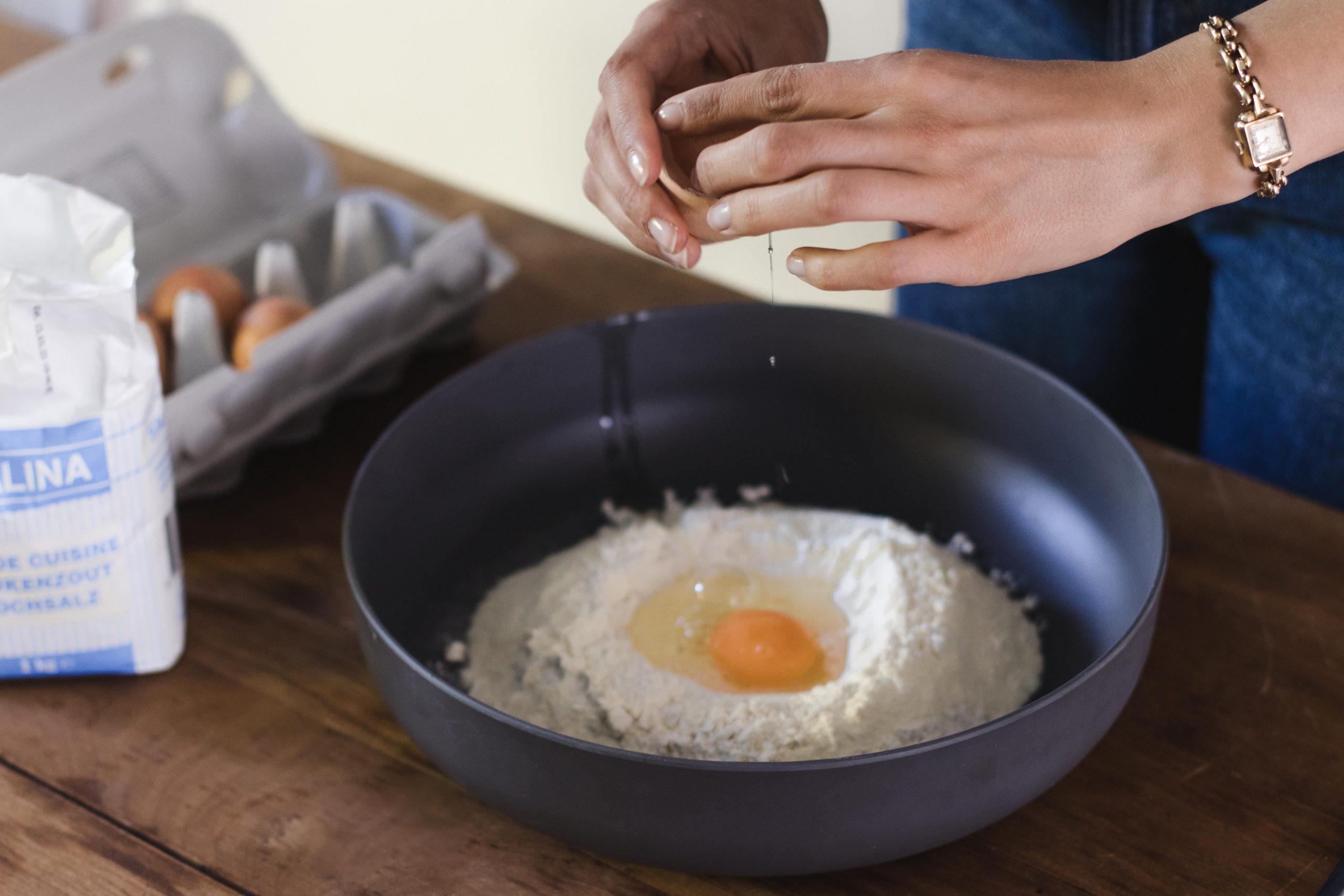 eieren pastadeeg